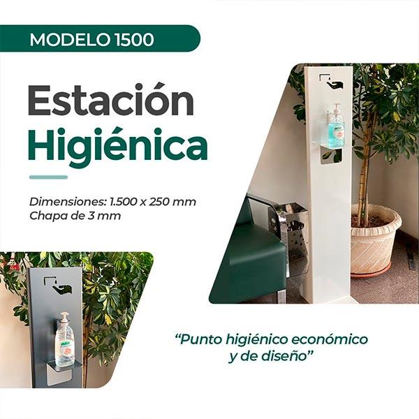 Estación higiénica modelo 1500