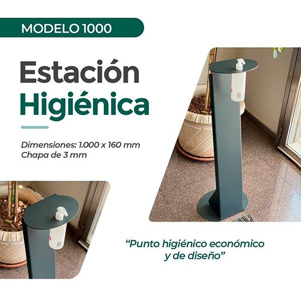 Estación higiénica modelo 1000